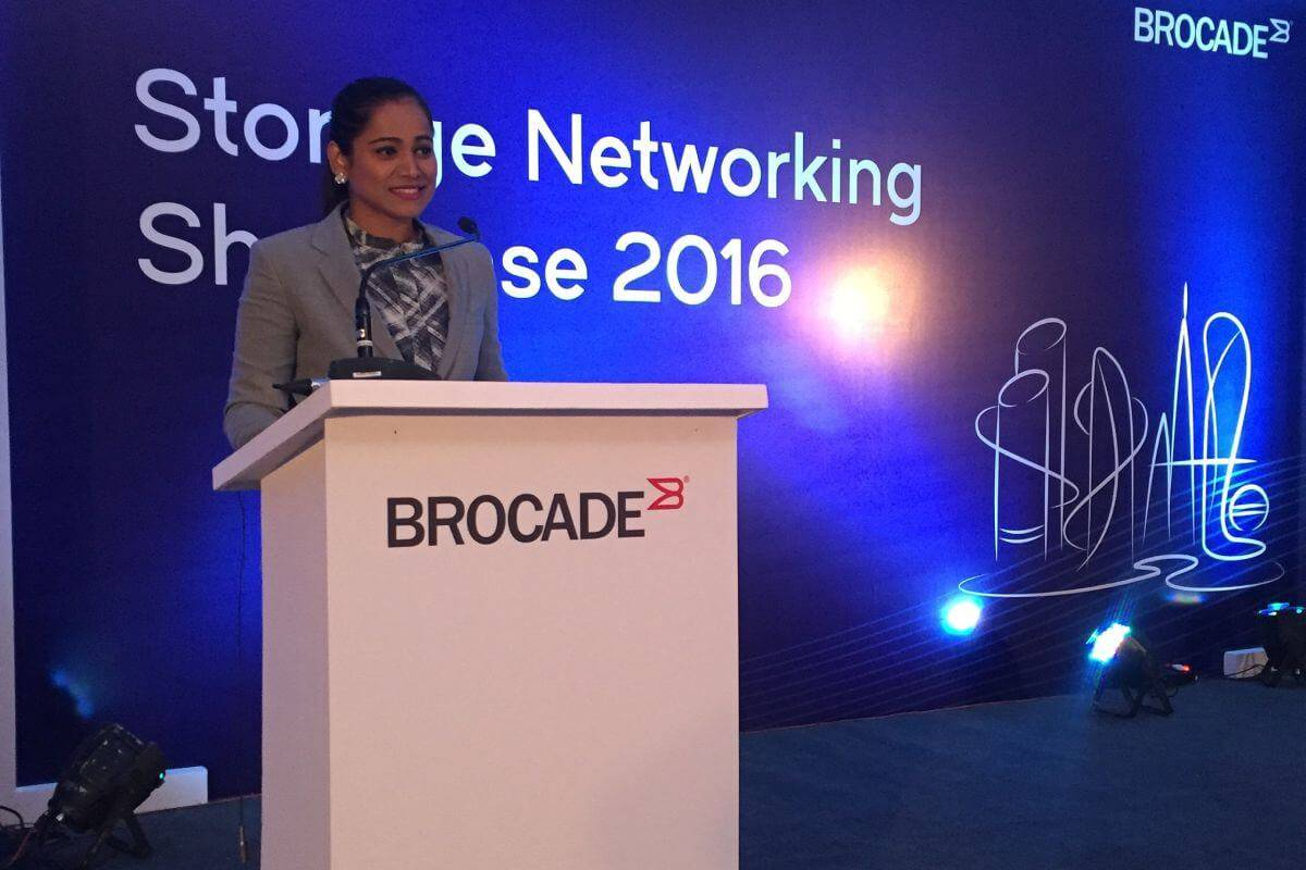 Brocade - Storage Networking Showcase 2016