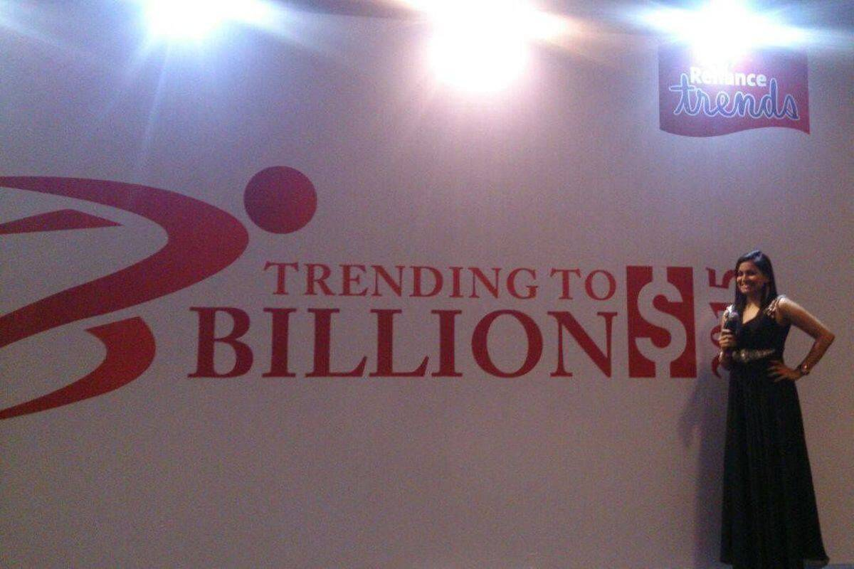 Reliance Trends - Trending to Billion $ 2015