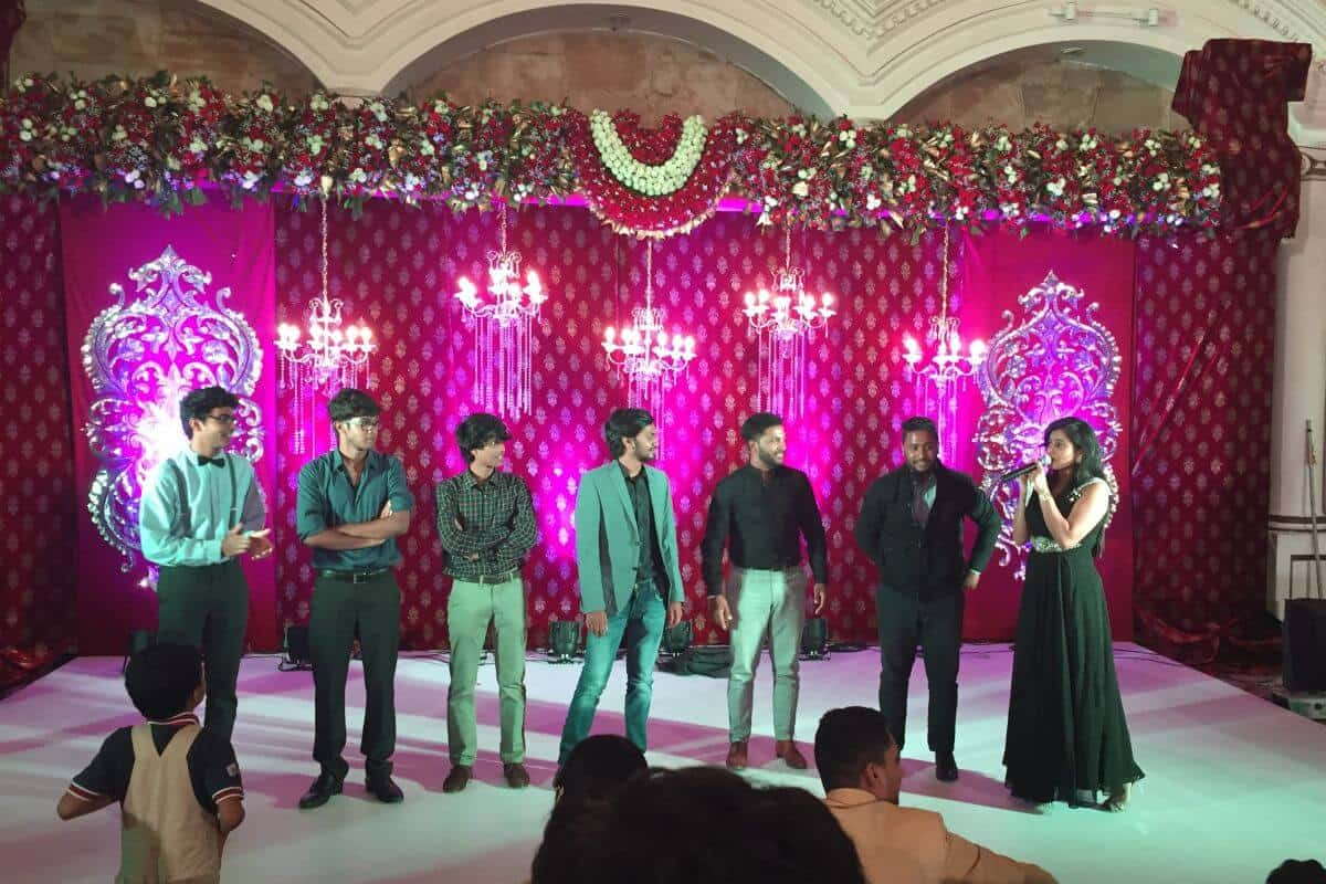 Sangeet at ITC Windsor, Bangalore