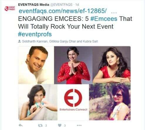 Reena Featured on EVENTFAQS Media