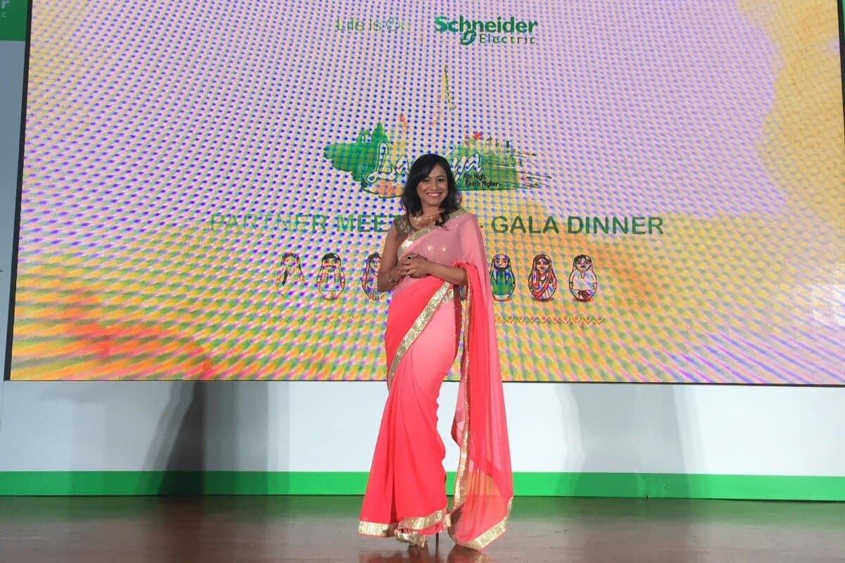 MC Reena in Bali with Schneider Electric Partners Meet 2017