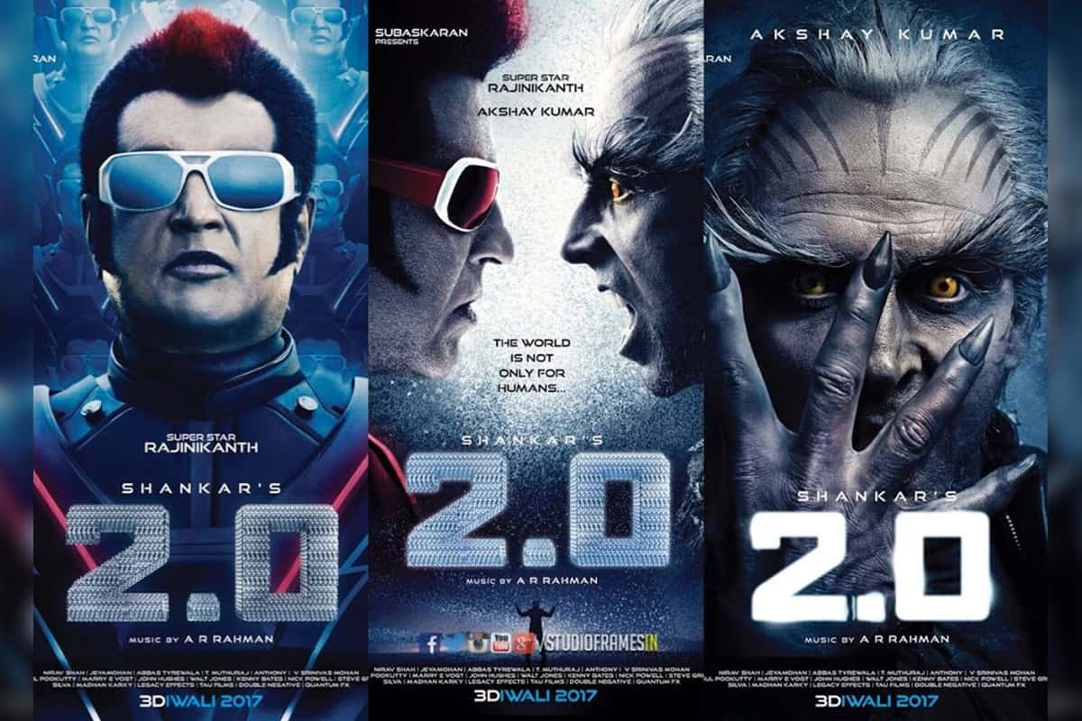 Most awaited Movie 2Point0 starrer Rajnikanth & Akshay Kumar to release on 27 April 2018