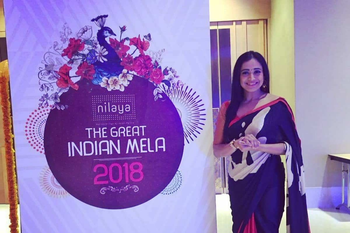 Emcee Reena hosted Asian Paints Nilaya - The Great Indian Mela 2018