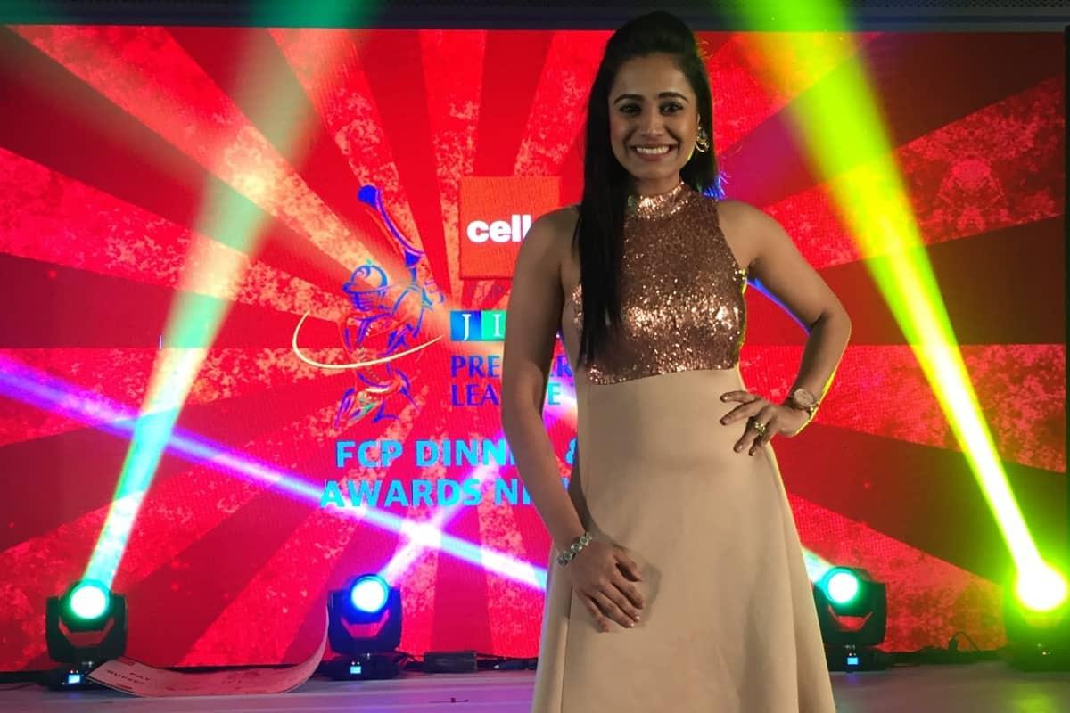 India's best emcee Reena Dsouza hosts JITO - JPL Awards Night 2018 in Chennai with Prachi desai & Shruti Hassan