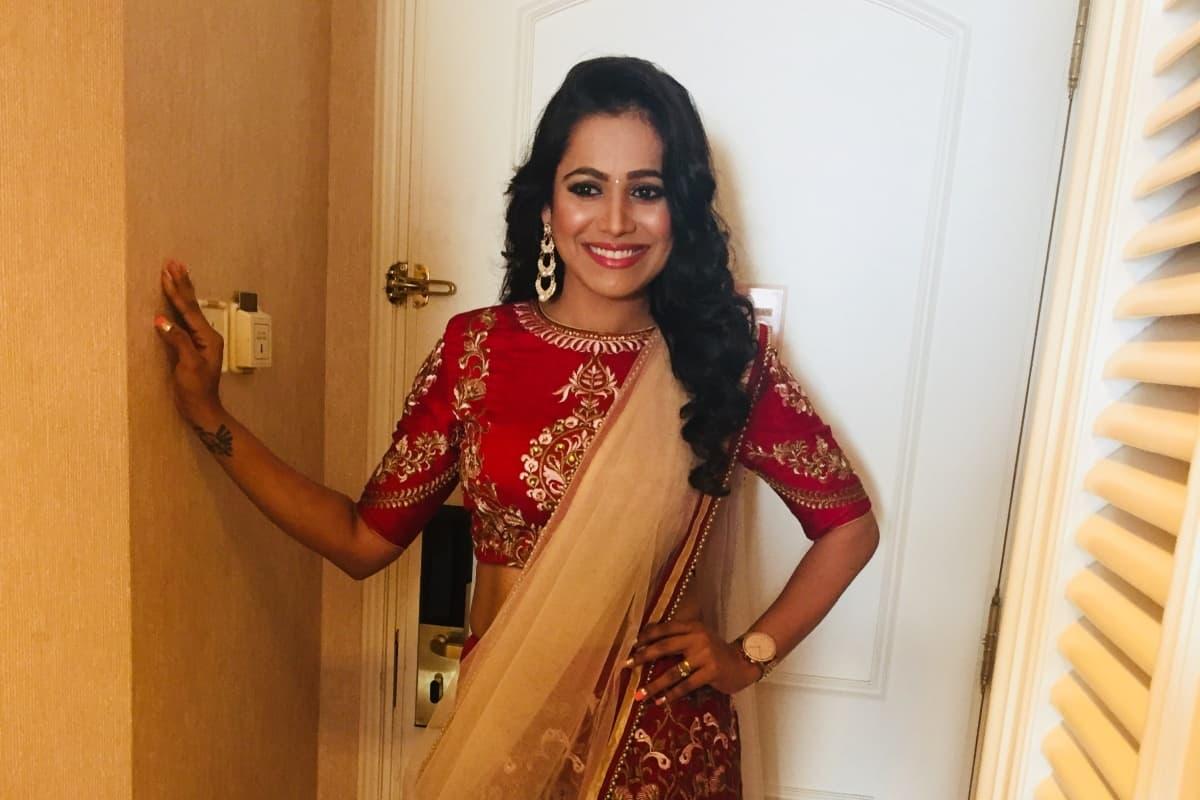 Konkani and English MC Reena hosts Rayan Pinto's roce ceremony