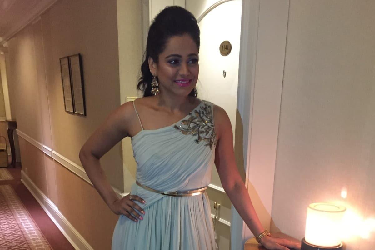India's best Emcee Reena compered Ryan Pinto & Anushka Kallianpur's nuptials in Sahara star Mumbai