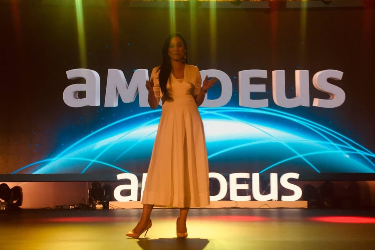 MC Reena Dsouza compered Amadeus Awards Night 2018