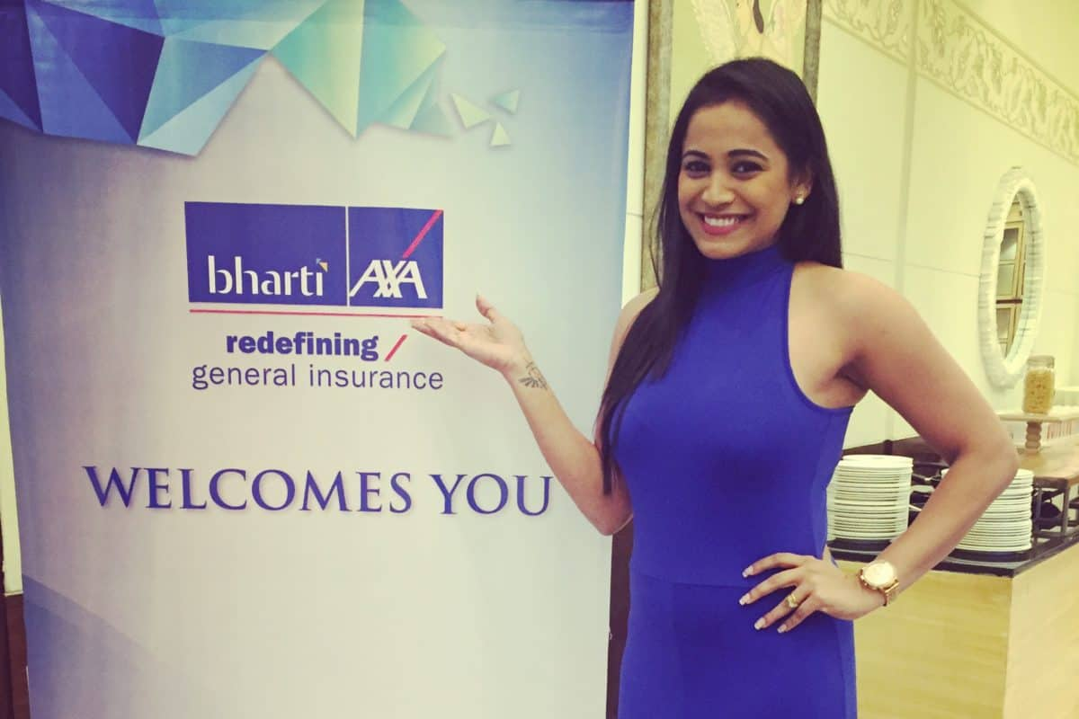 MC Reena hosts Bharti Axa, HSBC Employee Meet 2018