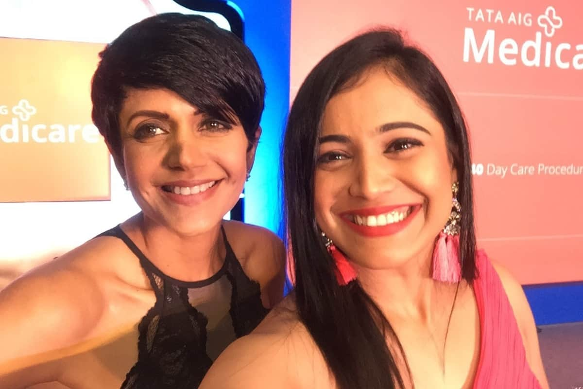 India's finest MC Reena hosts Tata AIG Medicare launch 2018 with Mandira Bedi