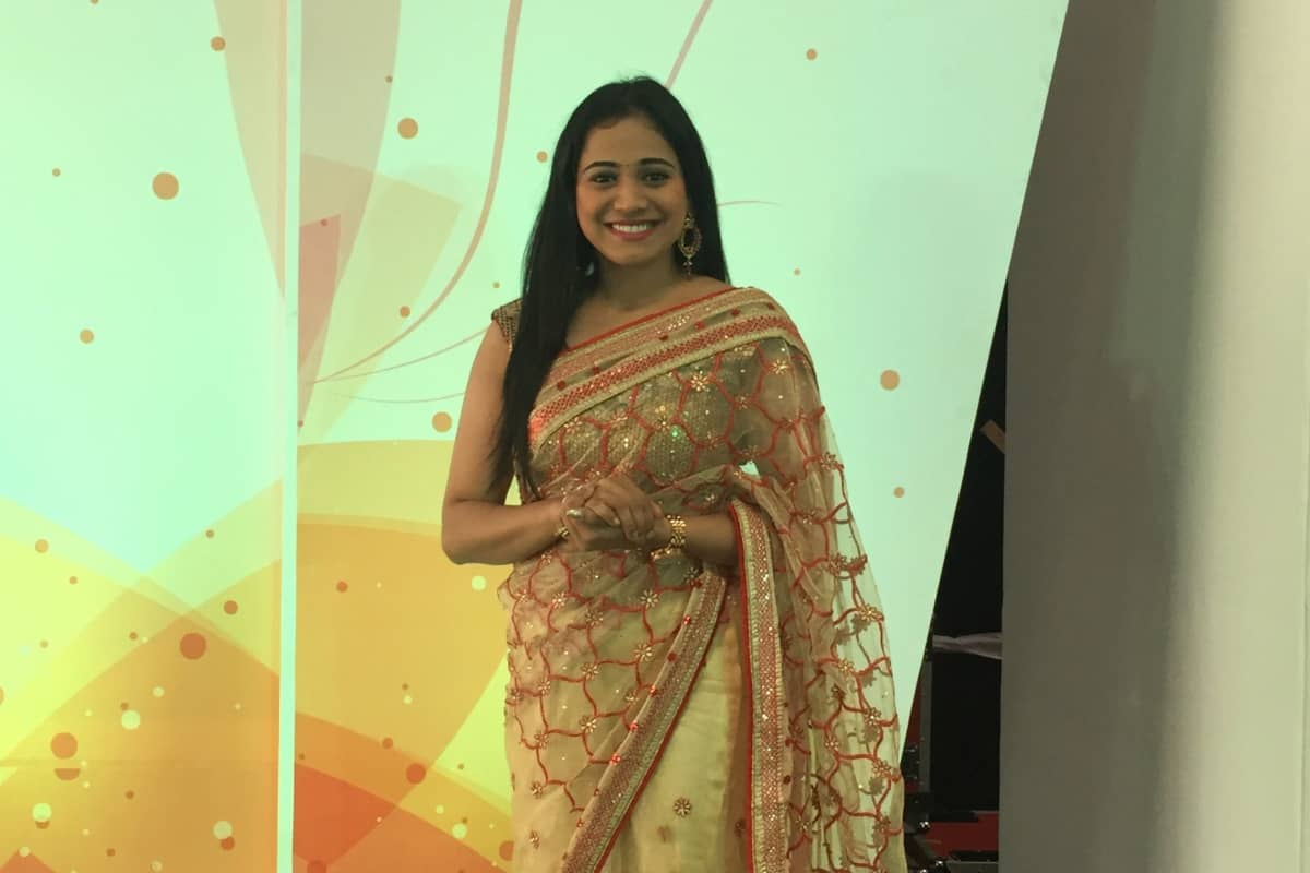 Bangalore's best Emcee Reena hosts first ever Sineng Electric India Pvt Ltd launch in India