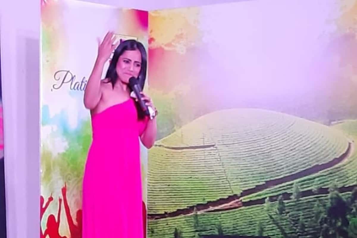 Emcee Reena hosts Berger paints platinum club celebration in Ooty