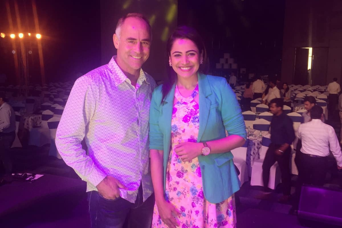 Bangalore's Multilingual anchor Reena hosts Wipro GE Healthcare Gamechangers Annual event 2019