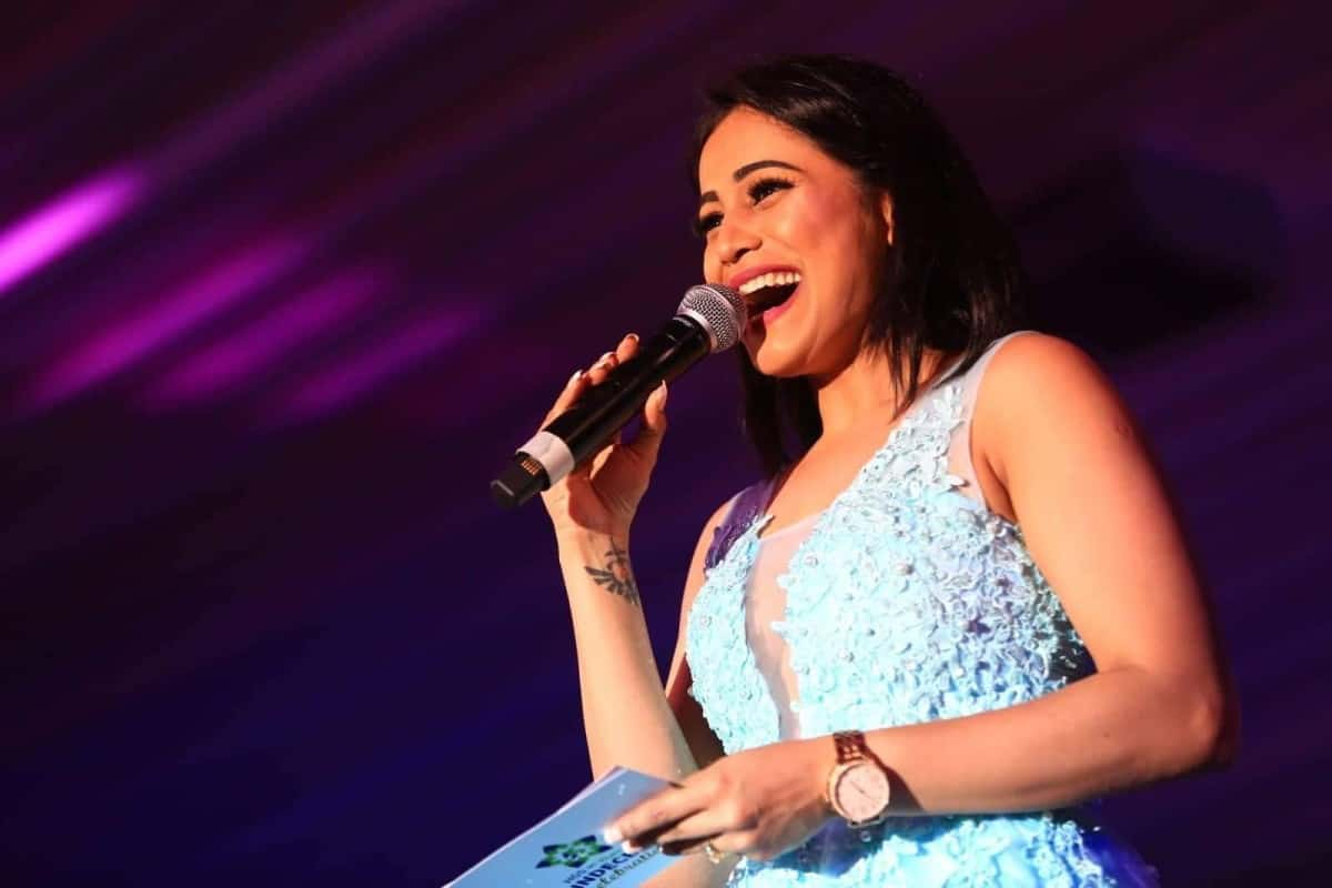 Anchor Reena D'souza hosted HGS & Humana Quindecennial celebrations 2019