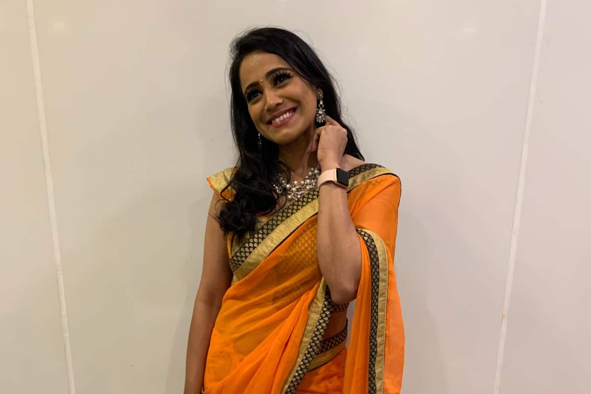 Tedx speaker Emcee Reena Dsouza hosts Schneider Electric Employee Family Day Umang 2019